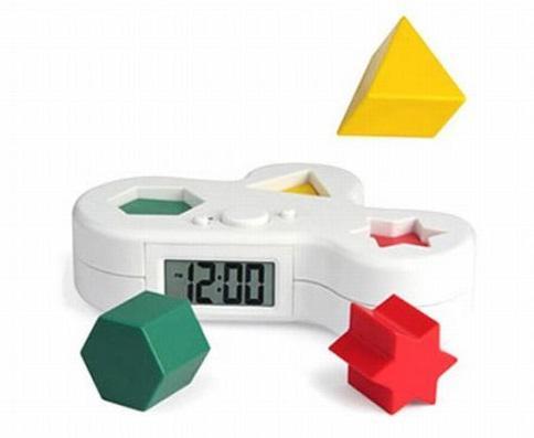 パズル型目覚まし時計