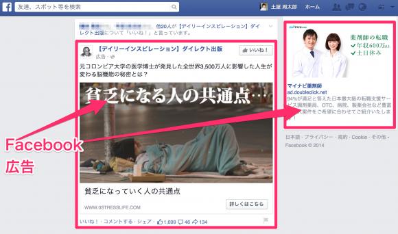 Facebook広告がうざい