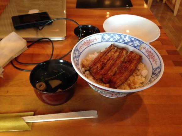 大和田 うな丼1650円