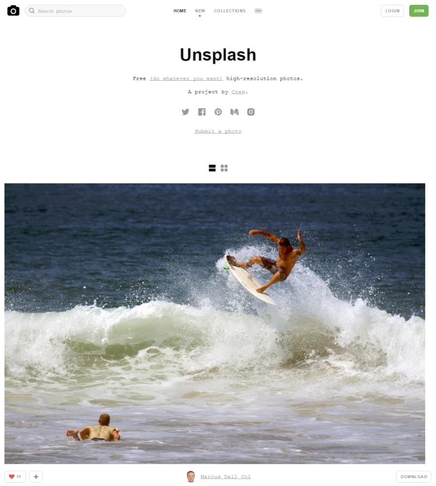 無料画像素材 Unsplash