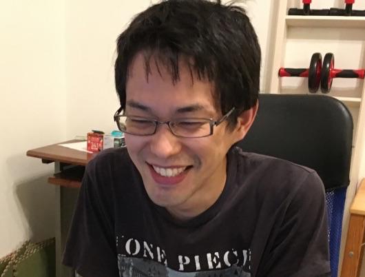 笑顔の松田
