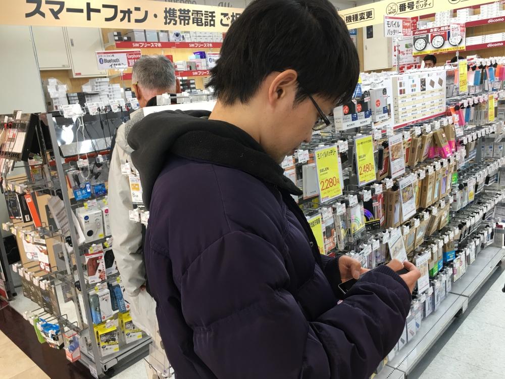 ビックカメラ柏店のWi-Fi接続失敗