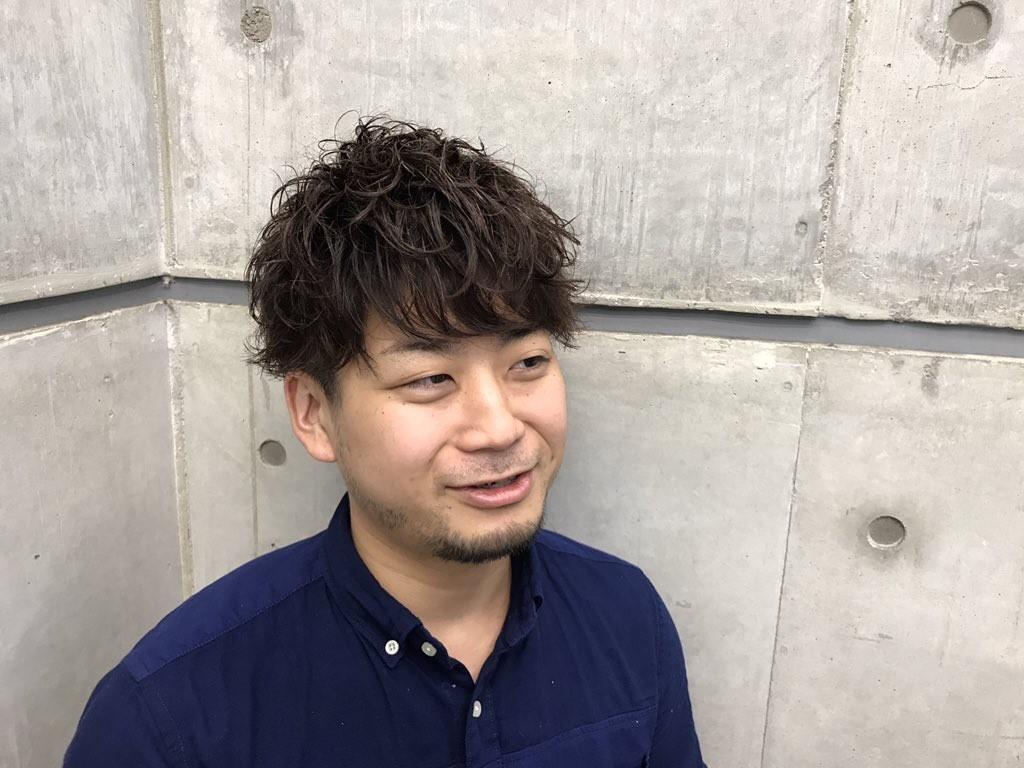 タロウ氏の髪型、完成!
