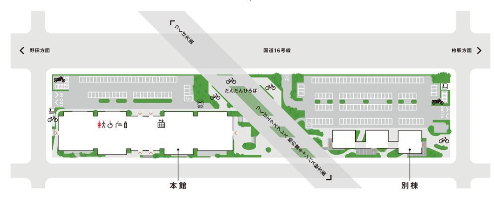 柏の葉T-SITE駐車場