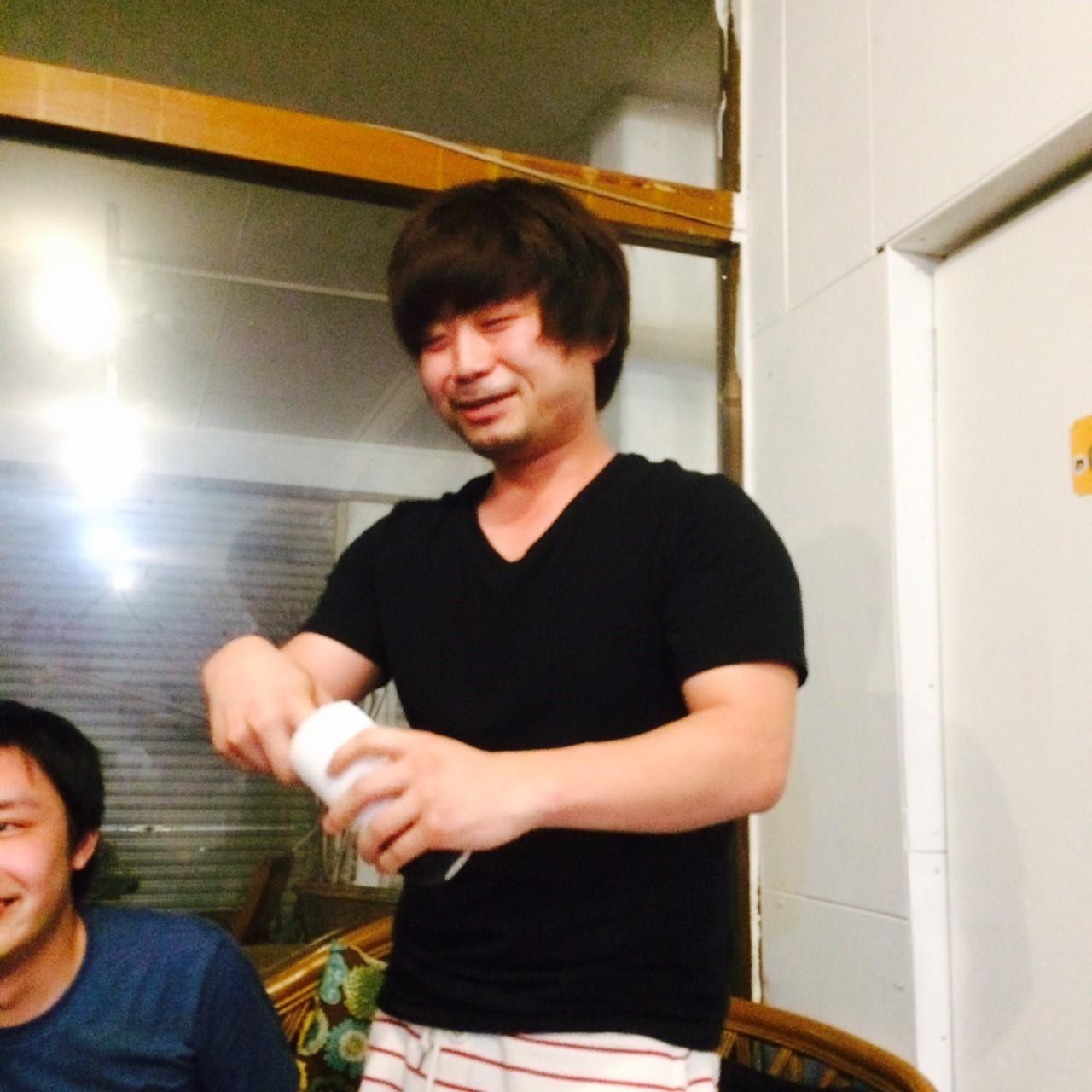 周太郎氏が登場、その手に持っているものは、、、?