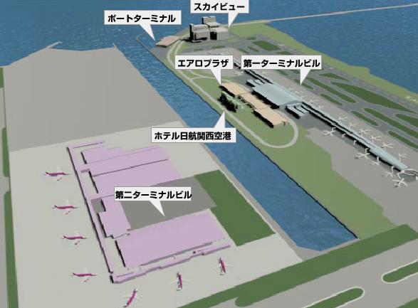 関西空港全体図
