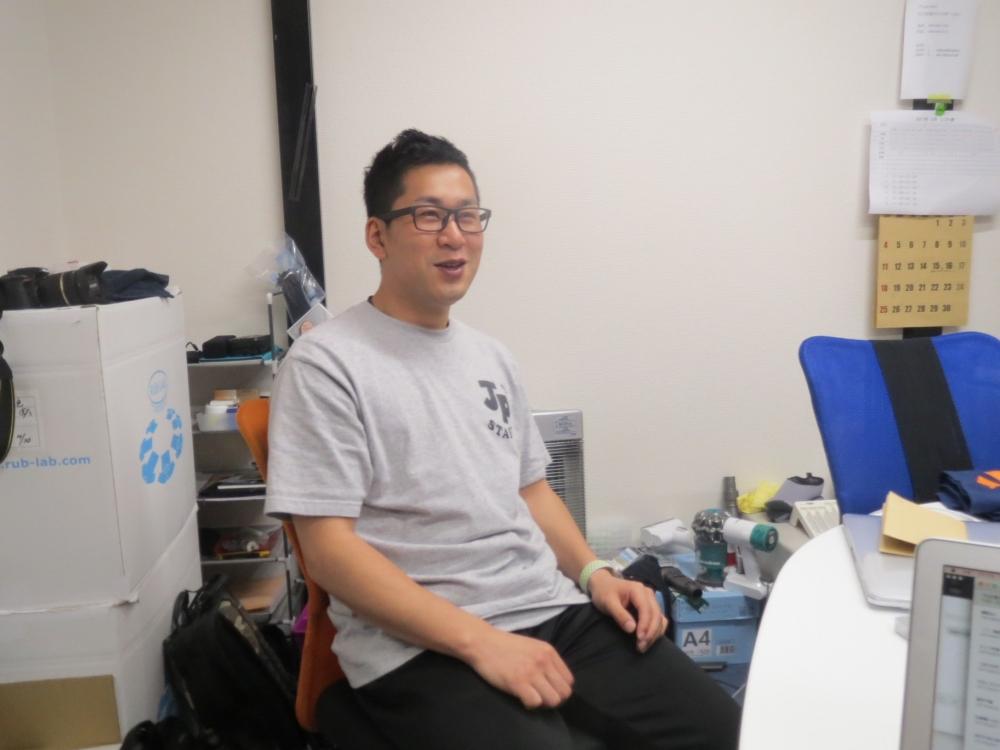 運営スタッフの松尾さん