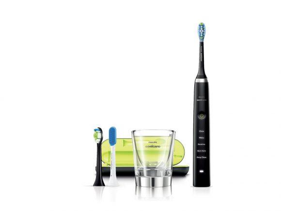 フィリップス 電動歯ブラシ ソニッケアー ダイヤモンドクリーン ディープクリーンエディション ブラック