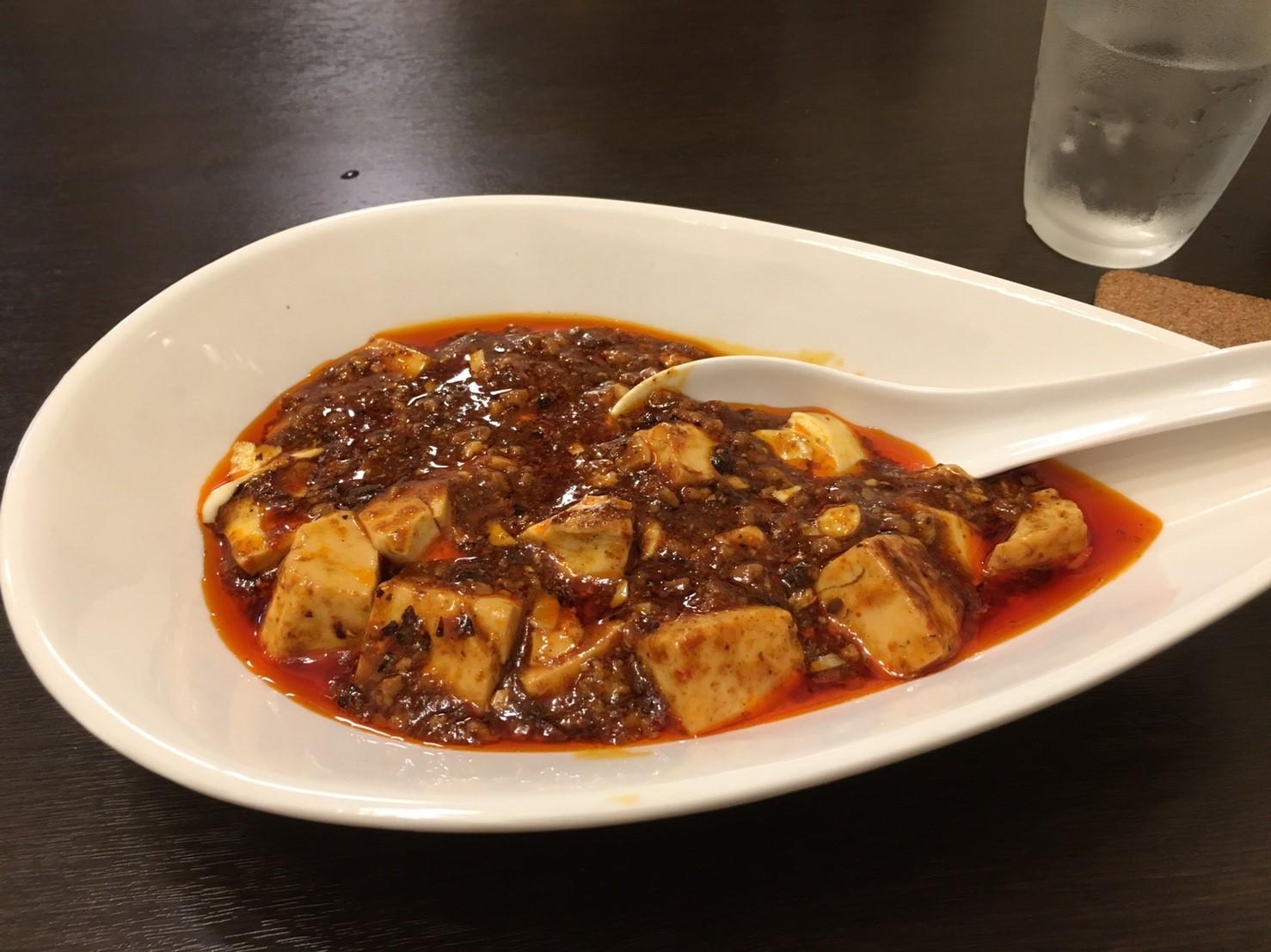 わとか食堂の麻婆豆腐