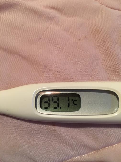 高熱38.7度