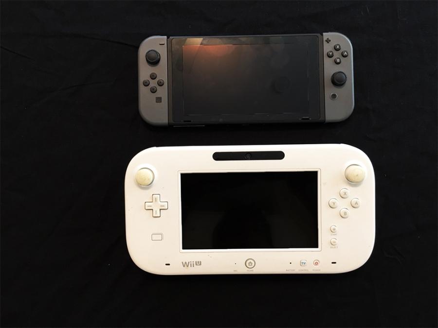 SwitchとWiiUゲームパッドの比較