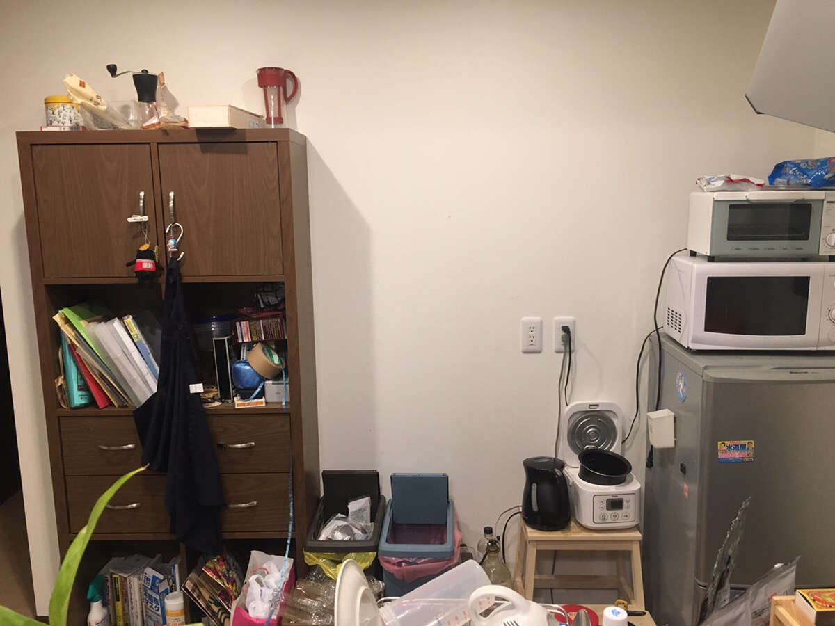 DIYで棚作る場所