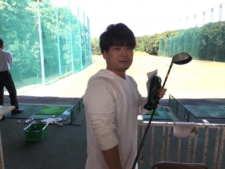 ゴルフの練習場