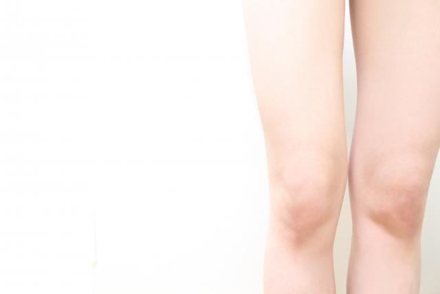 モデルの足