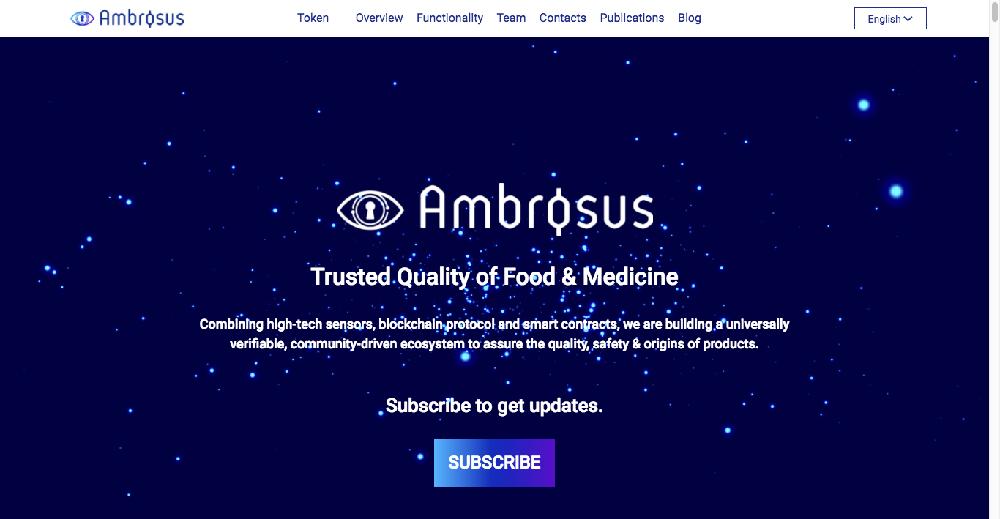 Ambrosus・Amber(AMB)とは?その目的と、将来性について解説