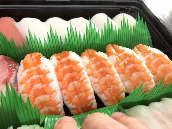 コストコ寿司 エビ