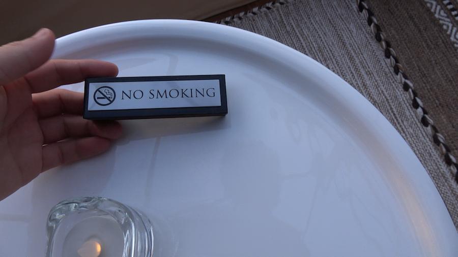 室内 禁煙