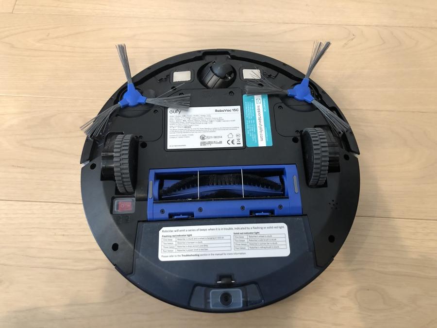ANKER ロボット掃除機 Eufy RoboVac 15C 背面