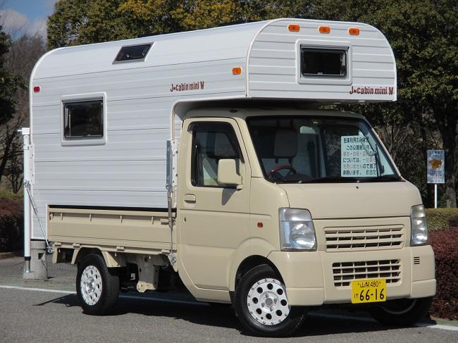 軽キャンピングカーJ-cabinminiW