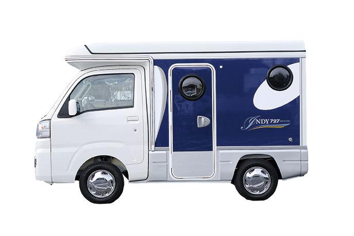 軽キャンピングカー インディ