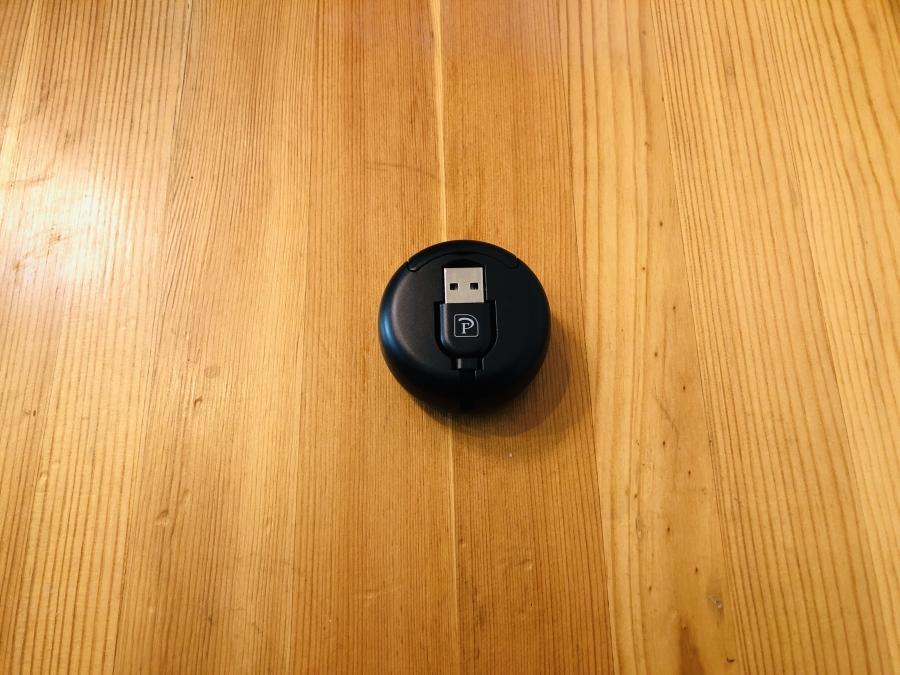 巻き取り式 3in1 ケーブル