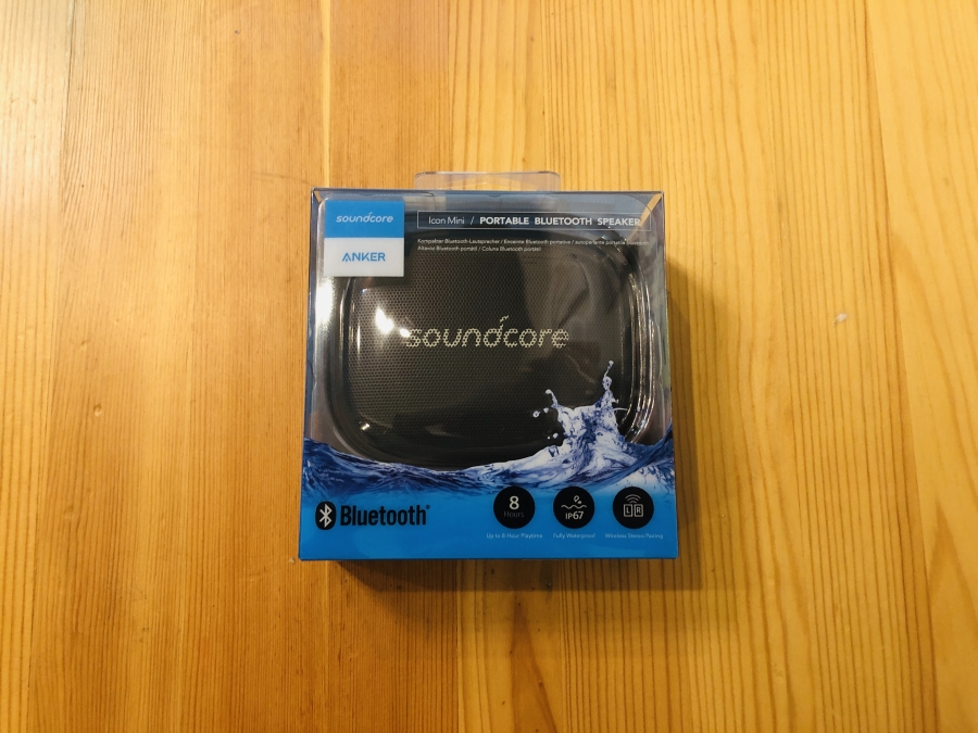 Bluetoothスピーカー「Soundcore Icon Mini」