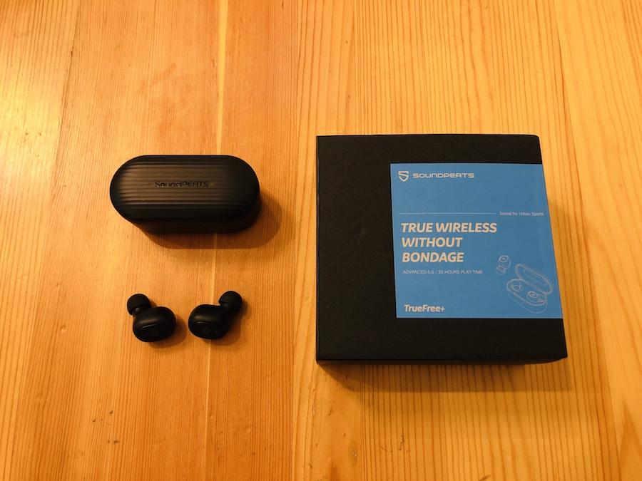 SoundPEATSワイヤレスイヤホン「TrueFree+」